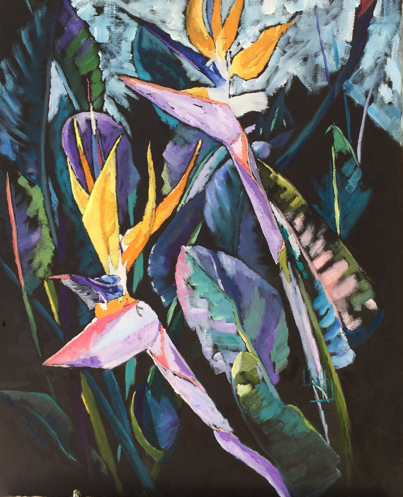 Duffy - Bird of Paradise, oil