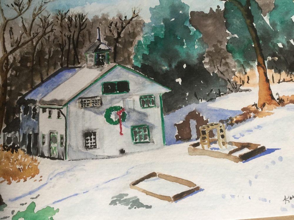 Valley Falls Farm in Winter