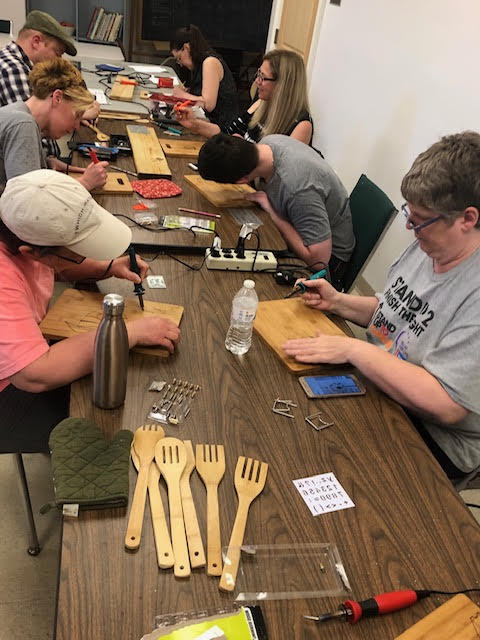 Wood Burning - 3 spoons OR 1 cheese board