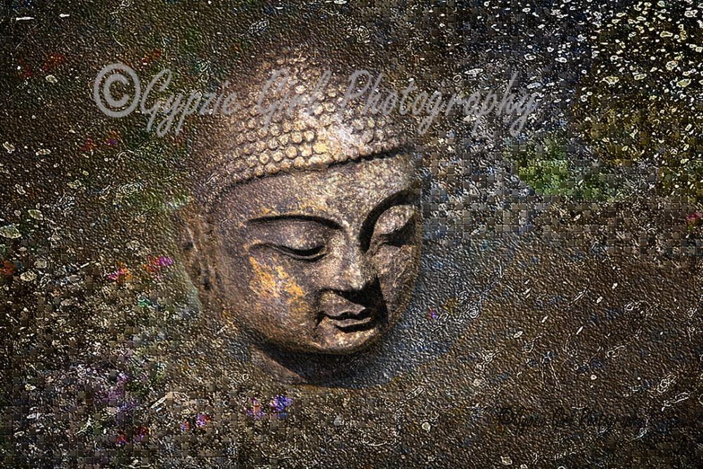 Buddha, digital photography
