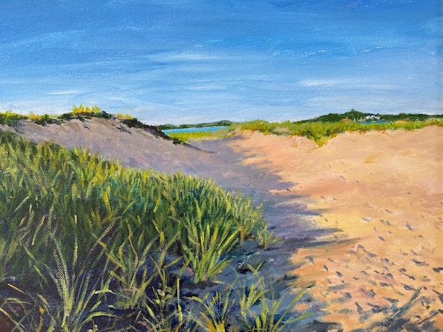 Cape Cod Tranquility, acrylic