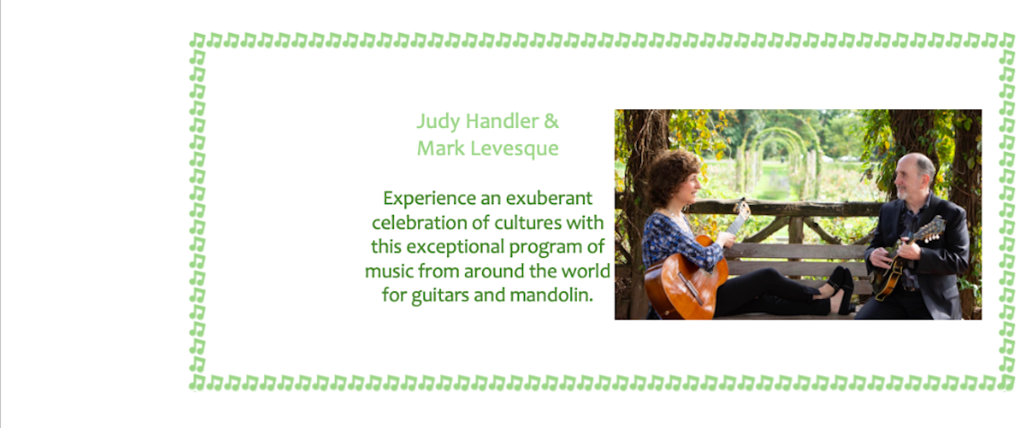 Music from Judy Handler and Mark Levesque