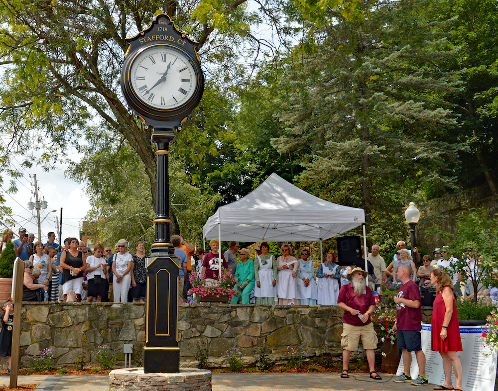 Anniversary Clock Unveiling, photography
