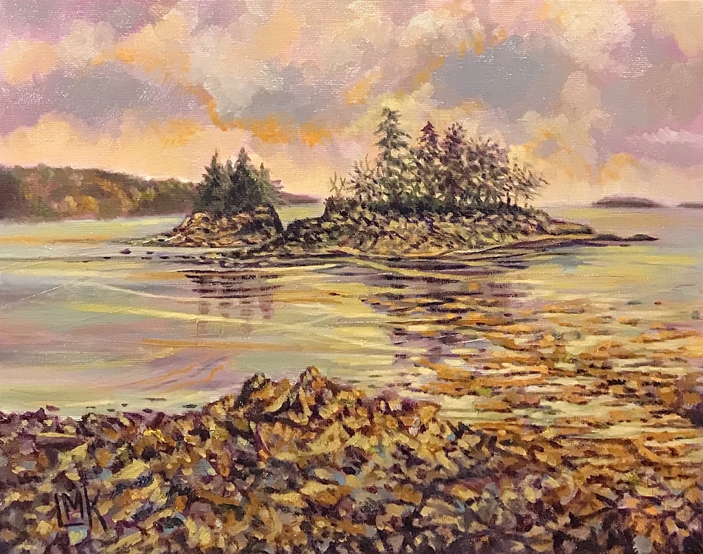 A Maine Memory, oil