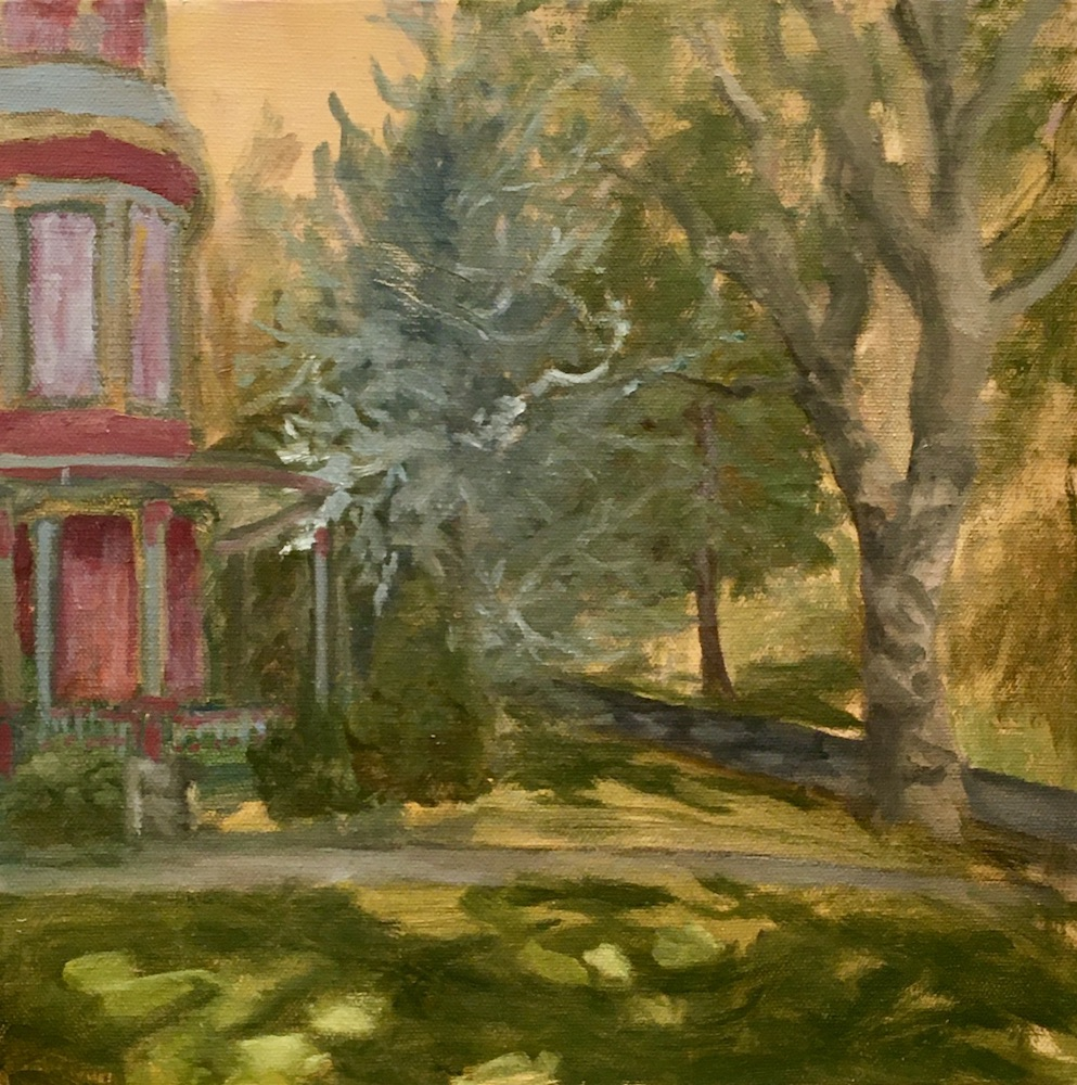New England Elegance, oil