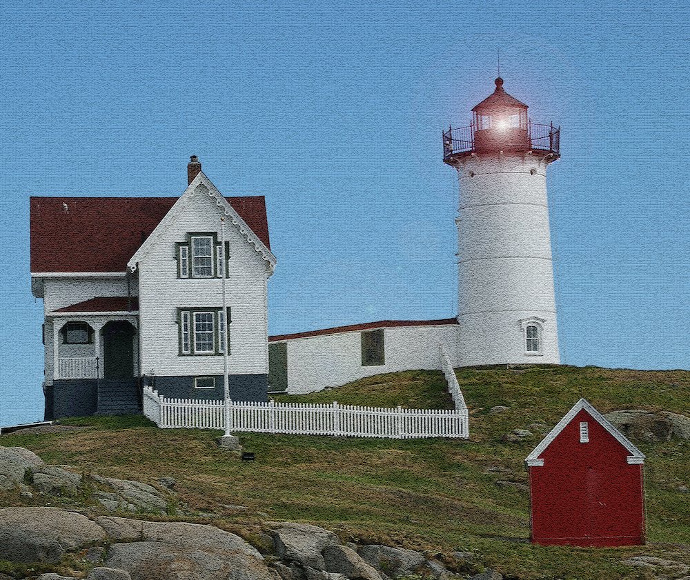 Nubble Light, photography