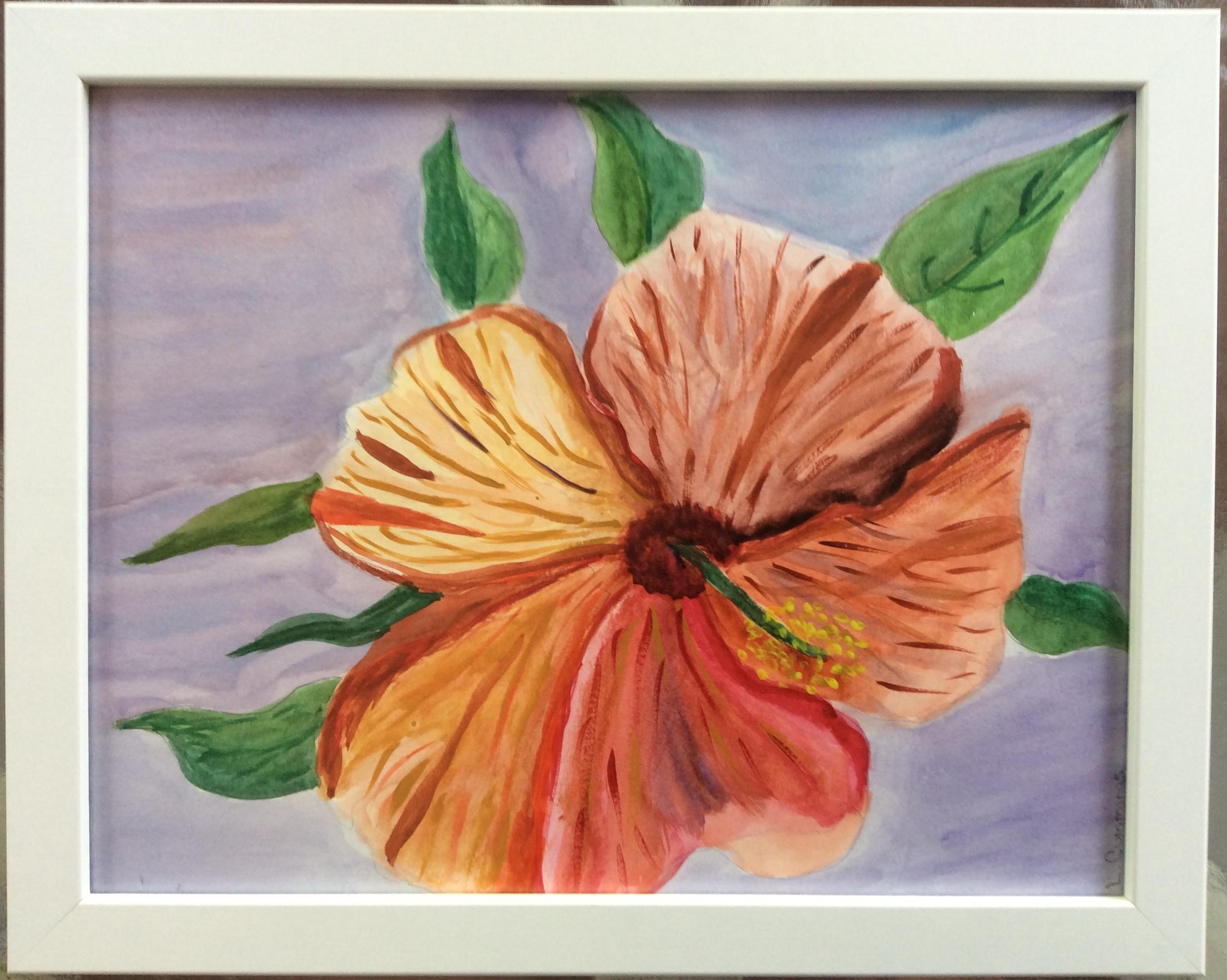 Lucille_Cummings_Hibiscus Blossom