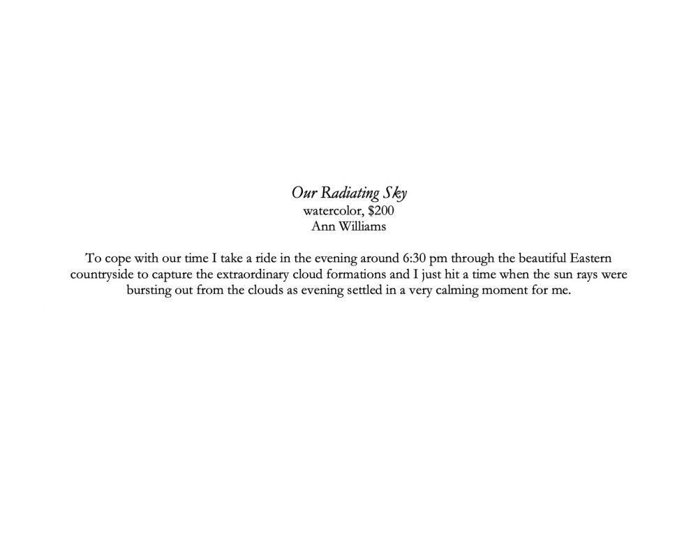 Our Radiating Sky description