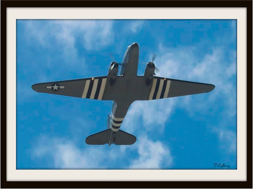 Veronica_Lufbery_WWII Flyover