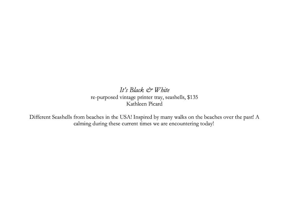 Black and White description corrected