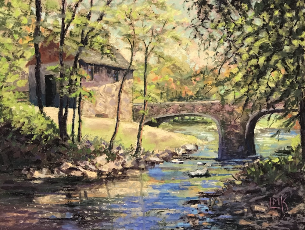 The Old Girstmill, pastel