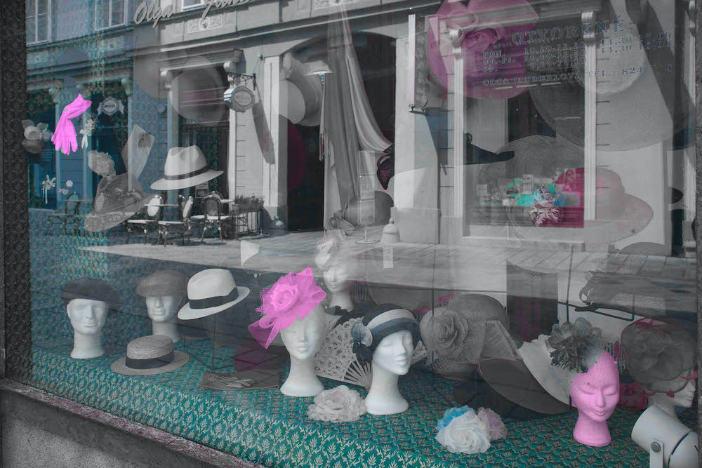 The Hat Shop, digital photography