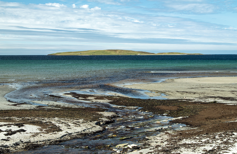 Eynhallow Sound, Orkney, photography