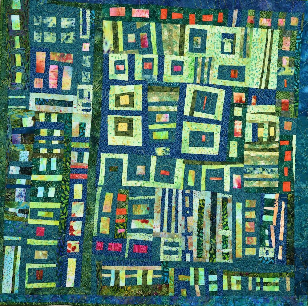 Cellular Organelles, textile, 375